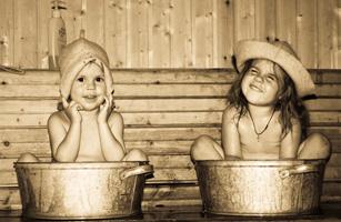 В баню с ребенком