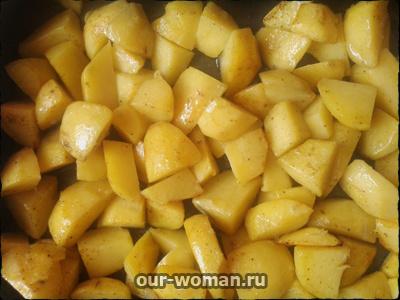 Рецепты вегетарианских блюд: брокколи с картошкой