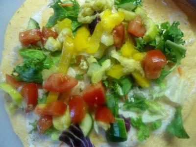 Рецепты вегетарианских блюд: мексиканская тортилья с начинкой из овощей