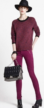 Джинсовая мода осень 2013 (100 фото)
