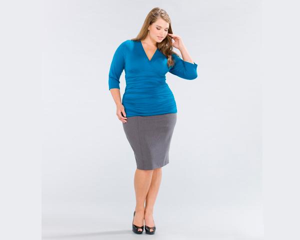Советы по стилю: размер «plus size»