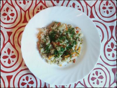 Рецепт вегетарианского плова с машем